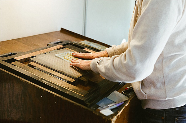 Molly Douma Brewer of Ice Pond Press is self-taught Montana-based letterpress printer and life-loving extraordinaire