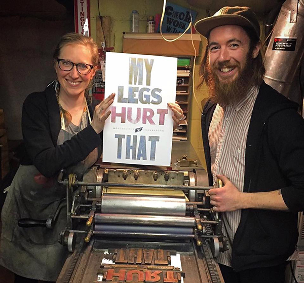 Ashley Town is the creative tour-de-force behind Milwaukee, WI's Bay View Printing Co.