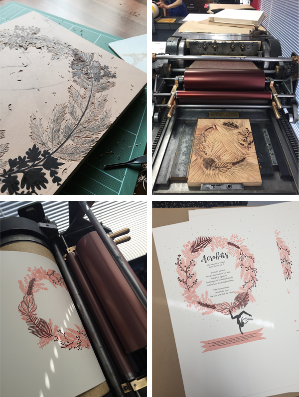 Nicole Cronin creates beautiful broadsides for the 2016 SVC Children's Broadsides project.
