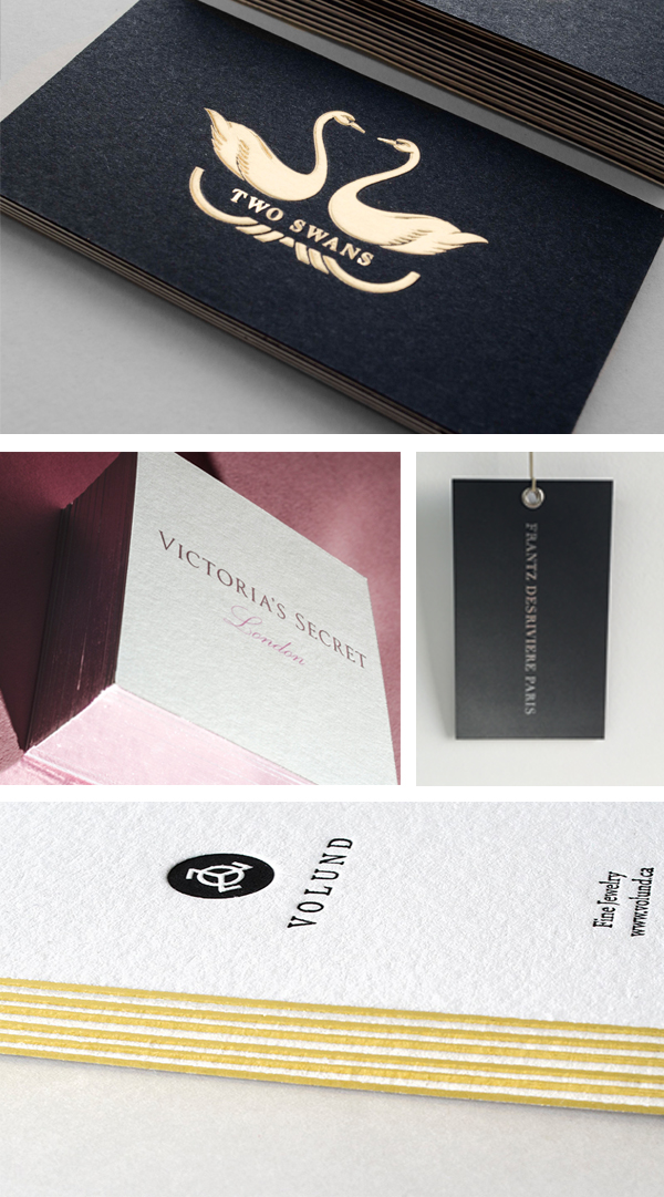 Publicide prints letterpress, digital and beautiful business cards.