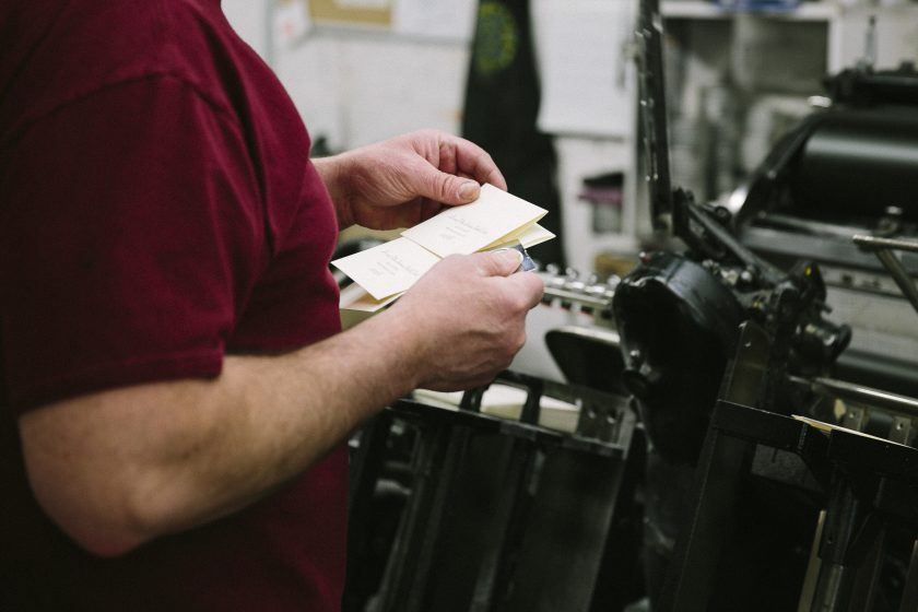 designing for letterpress photo