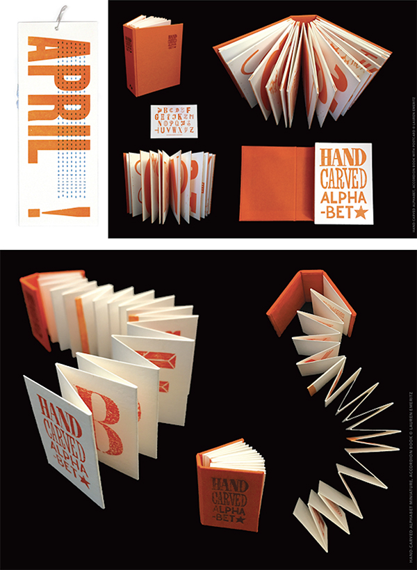 Emeritz Lauren ( Washington, D.C. ) letterpress prints beautiful hand-crafted fine editions artists books.