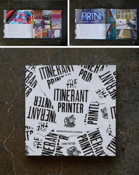 Chris Fritton, Itinerant Printer is a letterpress printer.