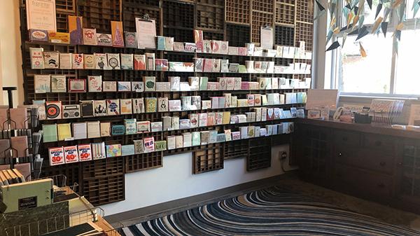 A. Favorite Design letterpress print shop Chicago