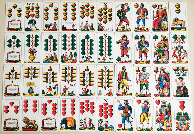 Salzburg_pattern- playing Cards