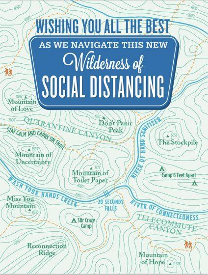 Waterknot-Wilderness Social Distancing